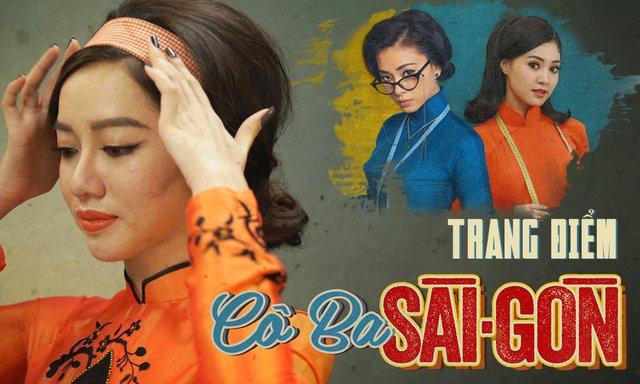 """Xem Beauty blogger Tracy Trinh hoá thân kiêu kỳ kiểu """"Cô Ba Sài Gòn"""" - Ảnh 1."""