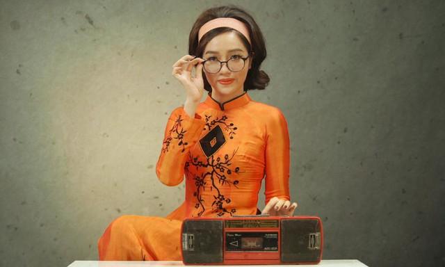 """Xem Beauty blogger Tracy Trinh hoá thân kiêu kỳ kiểu """"Cô Ba Sài Gòn"""" - Ảnh 6."""