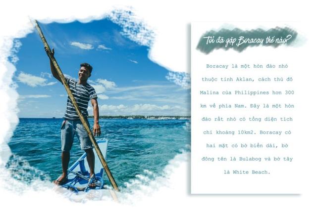 Theo chân hai cô bạn xinh đẹp khám phá thiên đường biển Boracay - Ảnh 3.
