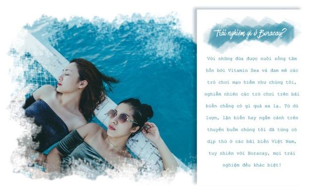 Theo chân hai cô bạn xinh đẹp khám phá thiên đường biển Boracay - Ảnh 5.