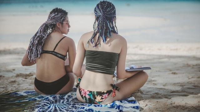 Theo chân hai cô bạn xinh đẹp khám phá thiên đường biển Boracay - Ảnh 23.
