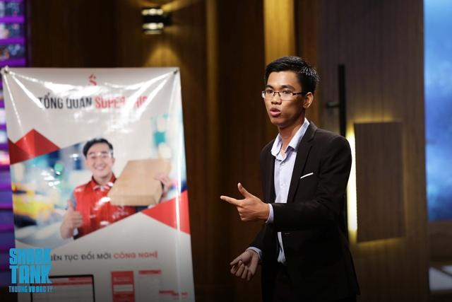 Shark Tank Việt Nam: Shark trẻ Lê Đăng Khoa lại giở chiêu dụ startup giao hàng nhanh - Ảnh 3.