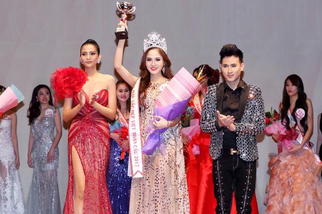 Bùi Thị Như Ý đăng quang Hoa hậu sắc đẹp Việt toàn cầu 2017 - Ảnh 2.