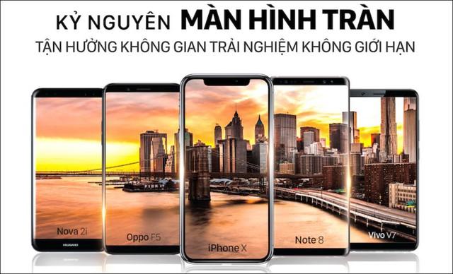 Muốn chất chơi phải biết trend smartphone màn hình tràn - Ảnh 3.