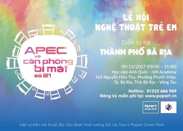 Lễ hội nghệ thuật trẻ em đặc sắc mừng sự kiện APEC thành công - Ảnh 1.
