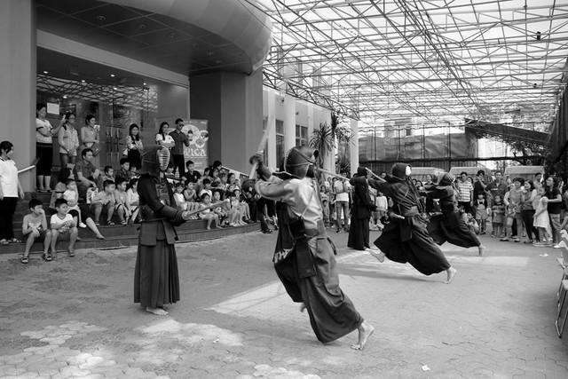 Lễ hội nghệ thuật trẻ em đặc sắc mừng sự kiện APEC thành công - Ảnh 3.