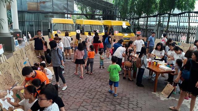 Lễ hội nghệ thuật trẻ em đặc sắc mừng sự kiện APEC thành công - Ảnh 4.