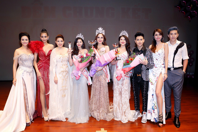 """Hoàng Dung đăng quang Á hậu 2 """"Hoa hậu sắc đẹp Việt Nam toàn cầu 2017"""" - Ảnh 7."""