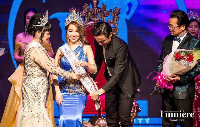 Hoàng Hải My đăng quang Hoa hậu người Việt Quốc tế - Miss Vietnam Beauty International Pageant tại Mỹ - Ảnh 1.