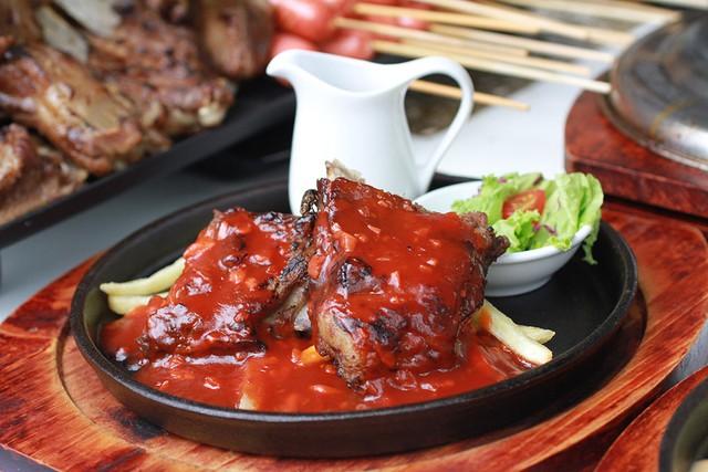 Lạc vào thiên đường ăn uống tại sự kiện Du lịch Ẩm thực và Giải trí Quốc tế ở Sài Gòn - Ảnh 4.