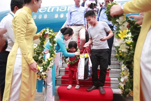 Vietnam Airlines tổ chức sự kiện đặc biệt chào đón hành khách thứ 200 triệu - Ảnh 4.