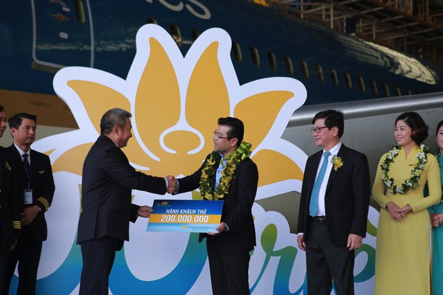 Vietnam Airlines tổ chức sự kiện đặc biệt chào đón hành khách thứ 200 triệu - Ảnh 6.