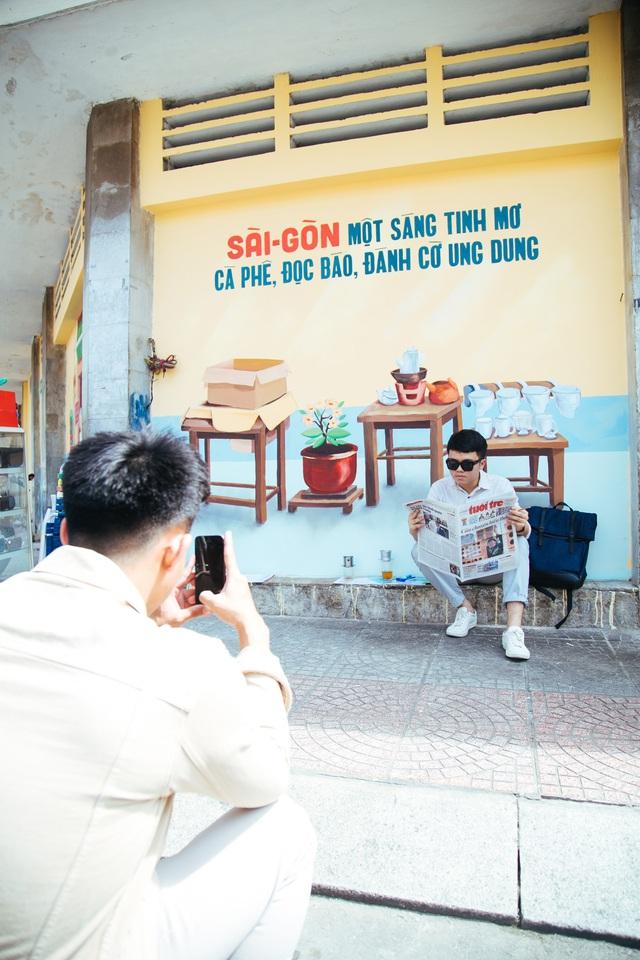 Bất ngờ trước những góc phố đẹp lạ đầy màu sắc tại Hà Nội và TP.HCM - Ảnh 8.