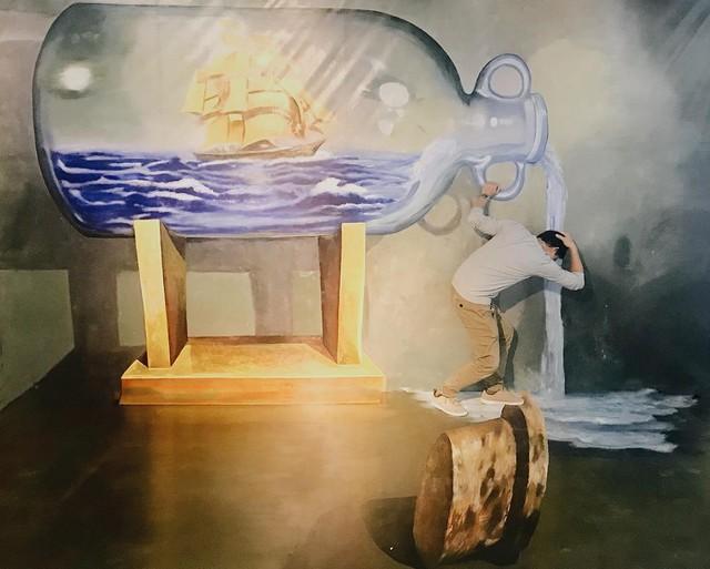 Ngất ngây với thế giới tranh 3D ấn tượng tại Hà Nội - Ảnh 4.