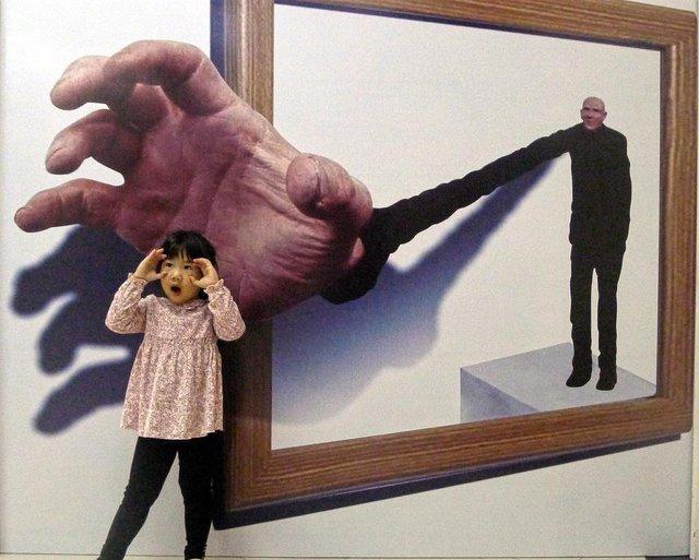 Ngất ngây với thế giới tranh 3D ấn tượng tại Hà Nội - Ảnh 9.