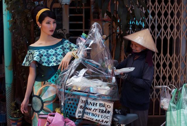 Cặp đôi mỹ nhân Cô ba Sài Gòn đẹp hoài cổ với trang phục của Thuỷ Design House - ảnh 10