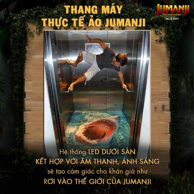 Trò chơi kỳ ảo Jumanji thách thức trải nghiệm thang máy thực tế ảo đầu tiên tại Việt Nam - Ảnh 2.