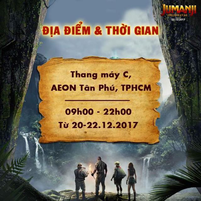 Trò chơi kỳ ảo Jumanji thách thức trải nghiệm thang máy thực tế ảo đầu tiên tại Việt Nam - Ảnh 3.