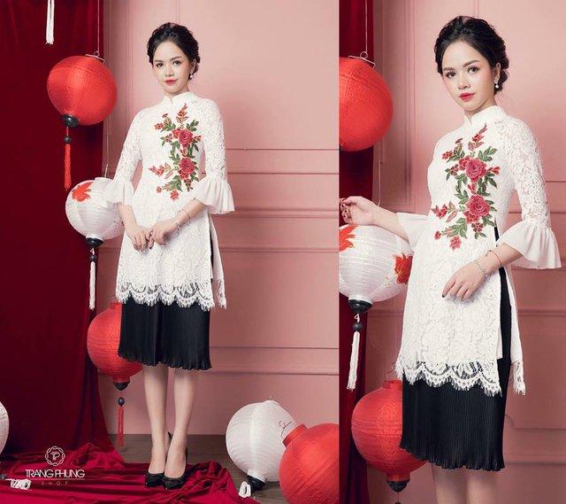 """Đón xu hướng áo dài cách tân cùng """"Cô Trang Hà Nội"""" - Ảnh 3."""