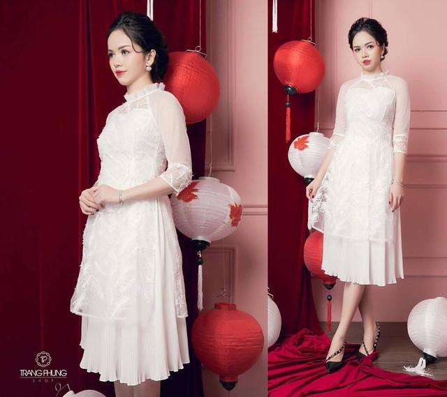 """Đón xu hướng áo dài cách tân cùng """"Cô Trang Hà Nội"""" - Ảnh 4."""