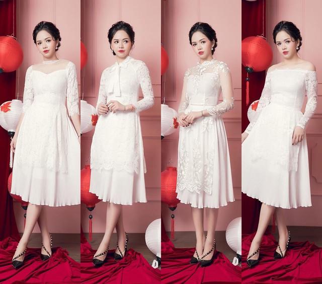 """Đón xu hướng áo dài cách tân cùng """"Cô Trang Hà Nội"""" - Ảnh 6."""