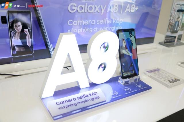 Chỉ với 500.000 đồng đặt trước Galaxy A8/A8+ 2018, sở hữu ngay bộ quà khủng đến 8 triệu đồng tại FPT Shop - Ảnh 4.