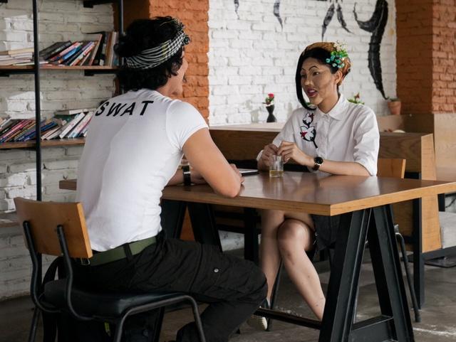 Chàng trai gây sốc khi không thích gái cao, nhưng lại lao đao vì cô nàng nấm lùn tại gameshow hẹn hò giấu mặt - Ảnh 5.