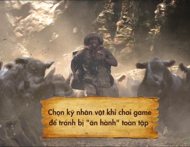 Những bài học xương máu sau khi xem Jumanji: Trò chơi kỳ ảo - Ảnh 1.