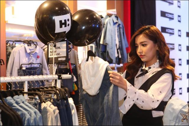 Bích Phương, Isaac cùng các fashion icon góp mặt ngày khai trương thương hiệu thời trang Hàn Quốc - Ảnh 5.