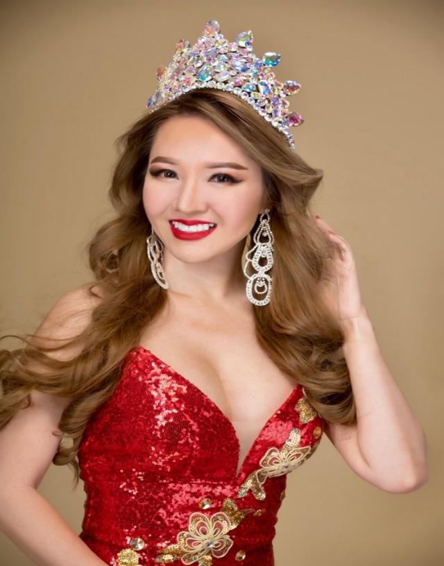 Gặp tân Hoa hậu Hoàng Hải My sau phút đăng quang Miss Vietnam Beauty International Pageant - Ảnh 1.