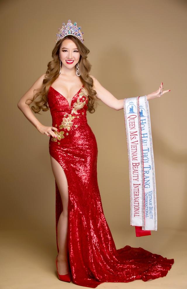 Gặp tân Hoa hậu Hoàng Hải My sau phút đăng quang Miss Vietnam Beauty International Pageant - Ảnh 2.