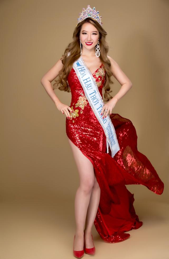 Gặp tân Hoa hậu Hoàng Hải My sau phút đăng quang Miss Vietnam Beauty International Pageant - Ảnh 3.