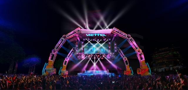 Choáng ngợp sân khấu đại nhạc hội được thiết kế như transformer giữa phố đi bộ Hà Nội - Ảnh 4.