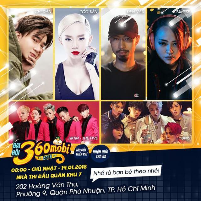 Đến đại hội 360mobi xem Tóc Tiên hát miễn phí, rinh hàng nghìn quà tặng siêu cute - Ảnh 3.