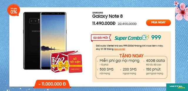Mua smartphone Samsung trợ giá khủng lên đến 11 triệu đồng - Ảnh 1.