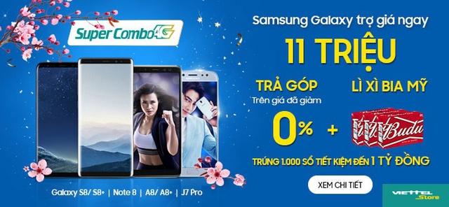 Mua smartphone Samsung trợ giá khủng lên đến 11 triệu đồng - Ảnh 2.
