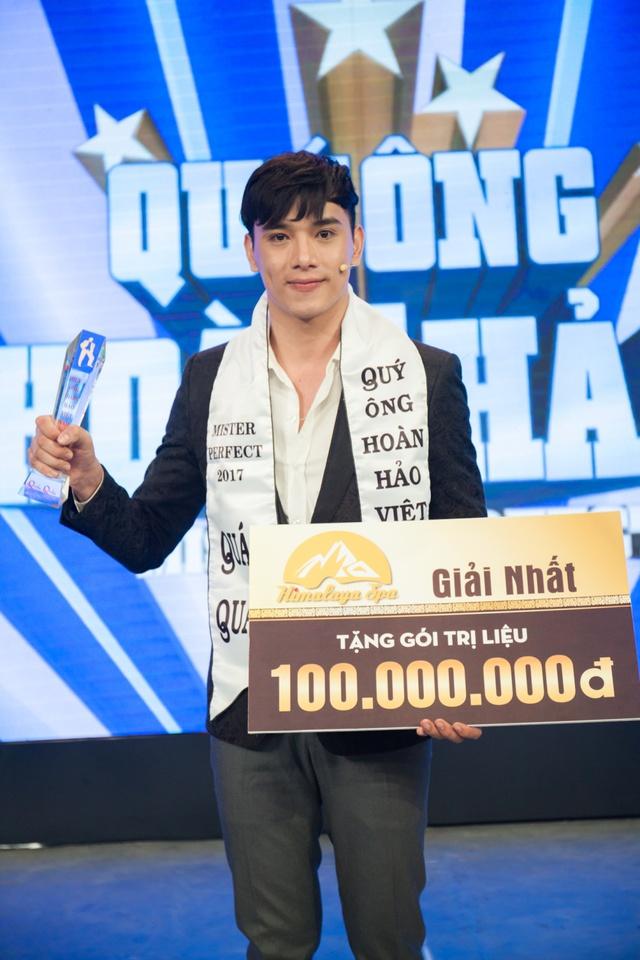Thuận Nguyễn đăng quang Quán quân Quý ông hoàn hảo Việt Nam 2017 - Ảnh 12.