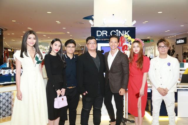 Kim Lý lịch lãm trong buổi giới thiệu mỹ phẩm Dr.Cink - Ảnh 4.