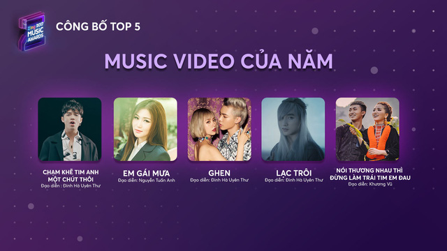 Top 5 Zing Music Awards 2017 chính thức lộ diện - Ảnh 3.