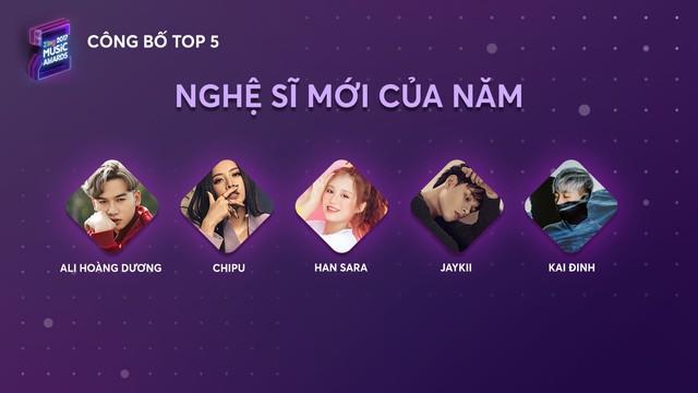 Top 5 Zing Music Awards 2017 chính thức lộ diện - Ảnh 5.
