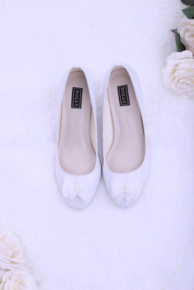 Thuần khiết và trong trẻo như những đôi giày cưới của Dolly - Ảnh 3.
