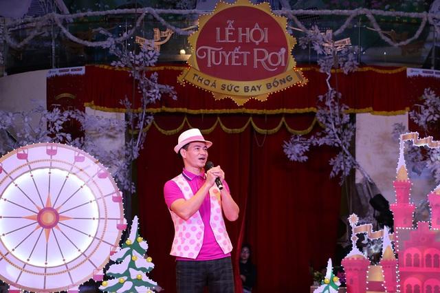 """""""Nam Tào Xuân Bắc"""" mang niềm vui đến với khán giả nhítại Lễ hội Tuyết rơi - Ảnh 1."""