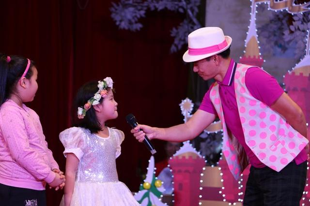 """""""Nam Tào Xuân Bắc"""" mang niềm vui đến với khán giả nhítại Lễ hội Tuyết rơi - Ảnh 2."""