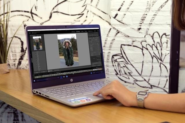 HP Pavilion 14 ra mắt phiên bản hồng nữ tính cho phái đẹp nhân dịp Valentine - Ảnh 2.
