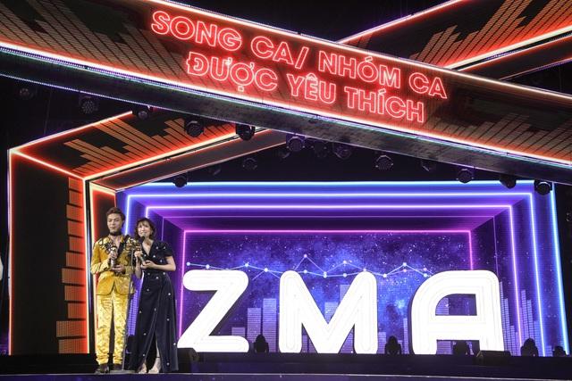 Min, Soobin, Hương Tràm đại thắng tại Zing Music Awards 2017 - Ảnh 2.