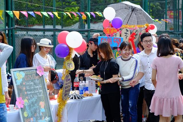 Ngày hội văn hóa, ẩm thực chào xuân 2018 tại trung tâm ngoại ngữ Hà Nội - Ảnh 2.