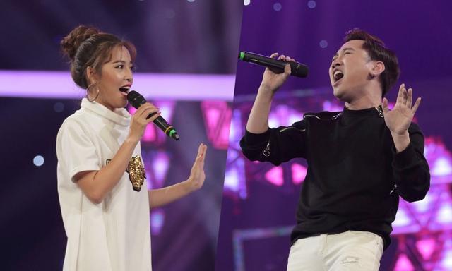 Puka, Don Nguyễn khuấy động sân khấu Đấu trường 9+ bằng ca khúc Đường cong - Ảnh 1.