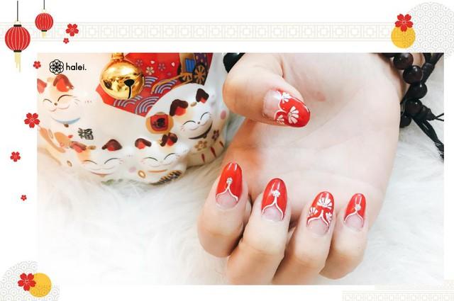"""Đón Tết long lanh cùng bộ sưu tập nail """"Mèo Thần Tài"""" cực cute - Ảnh 3."""