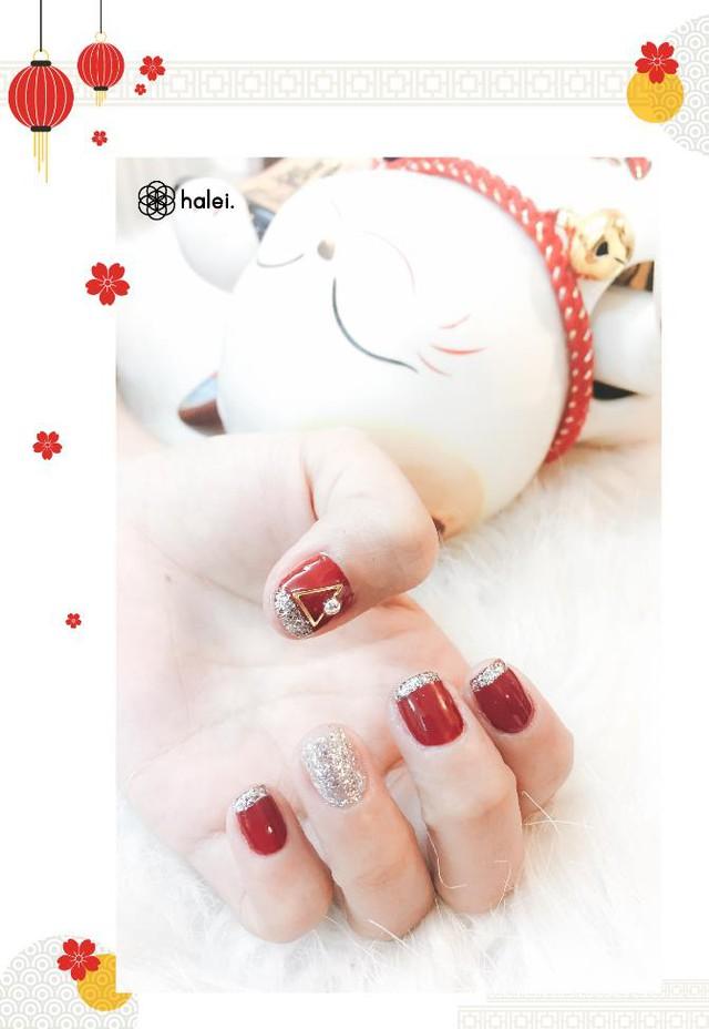 """Đón Tết long lanh cùng bộ sưu tập nail """"Mèo Thần Tài"""" cực cute - Ảnh 4."""