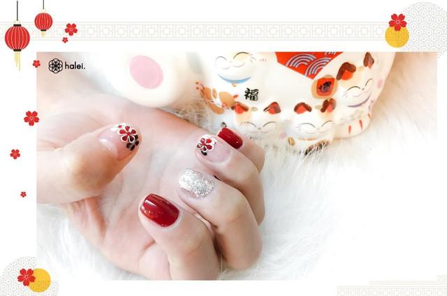 """Đón Tết long lanh cùng bộ sưu tập nail """"Mèo Thần Tài"""" cực cute - Ảnh 5."""